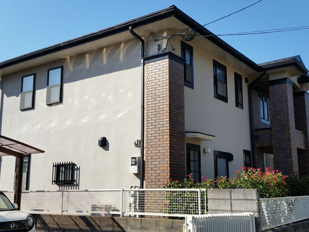 N邸 外壁塗装、屋根塗装工事
