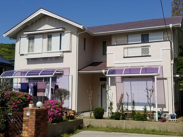 遠賀郡水巻町 I様邸 外壁塗装、屋根塗装工事