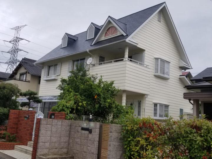 北九州市若松区 S様邸 外壁塗装、屋根塗装工事