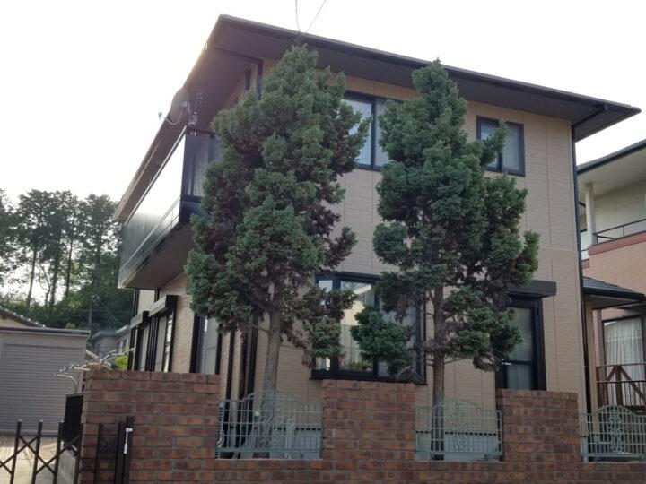 J邸 外壁塗装、屋根塗装工事