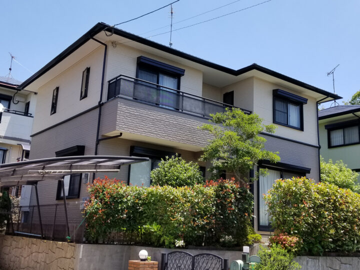 E邸 外壁塗装、屋根塗装工事