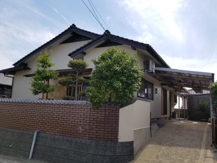 遠賀郡水巻町 K様邸 外壁塗装、屋根塗装工事