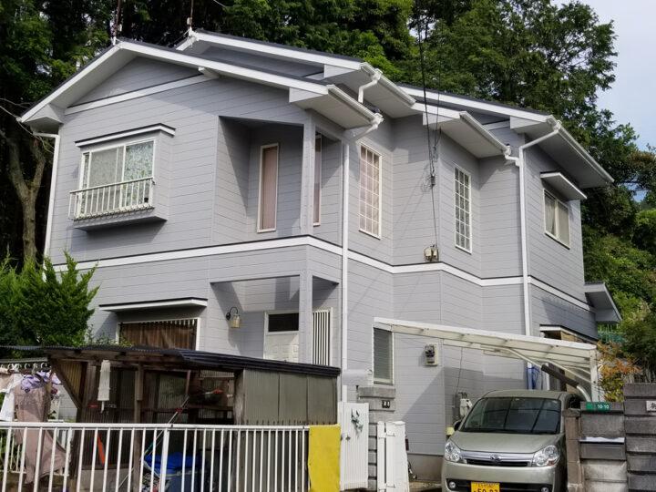 W邸 外壁塗装、屋根塗装工事