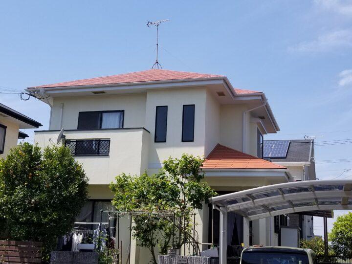 S様邸 外壁塗装工事・屋根塗装工事