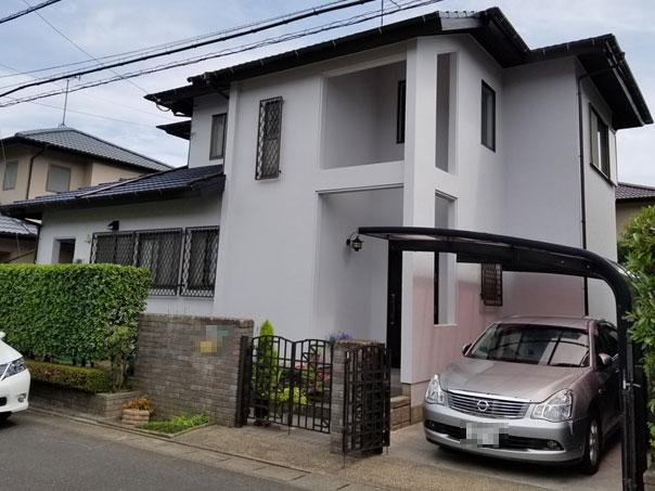 K邸 外壁塗装、屋根塗装工事