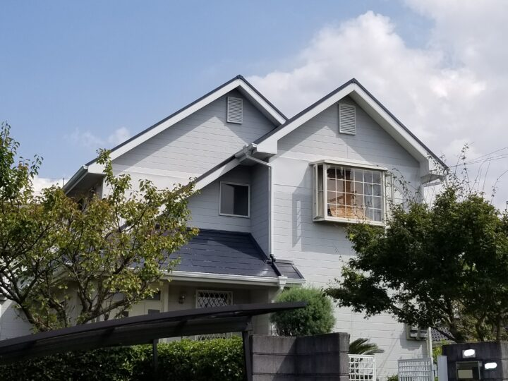 H様邸 屋根塗装工事