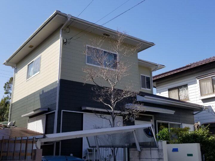 S様邸 外壁・屋根塗装工事