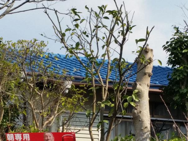 S邸 屋根塗装工事