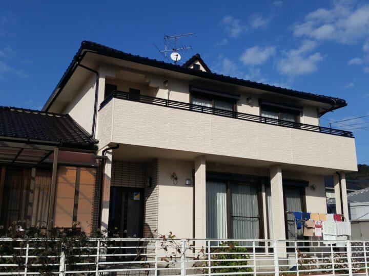 遠賀郡水巻町 S様邸 外壁塗装工事