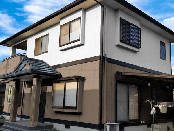 H邸 外壁塗装、屋根塗装工事
