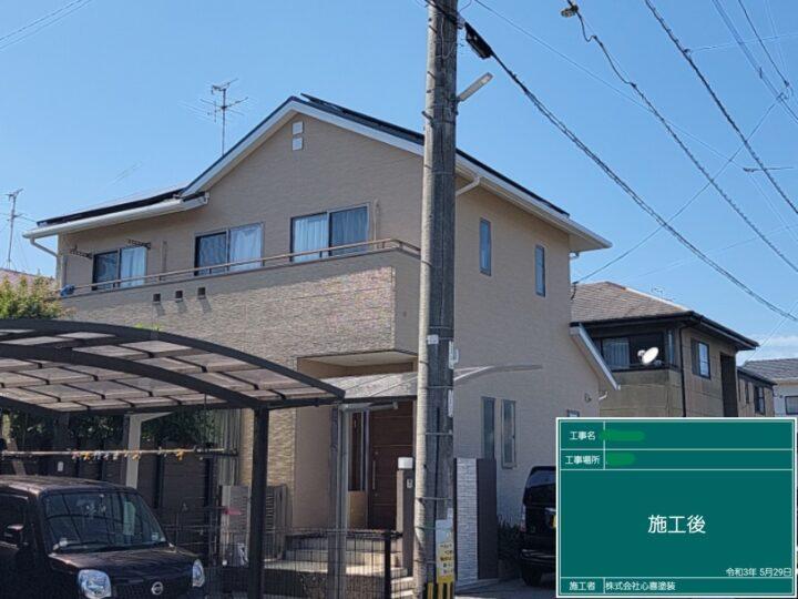 T様邸 外壁塗装、屋根塗装工事