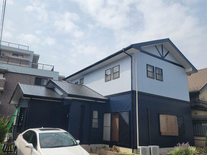 K様邸 外壁塗装、屋根塗装工事