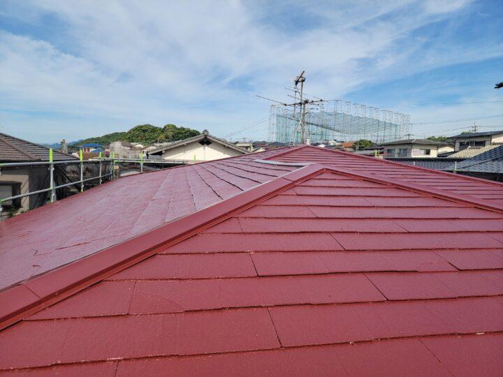 S様邸 屋根塗装工事