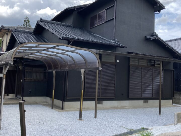 U様邸 外壁、屋根塗装工事