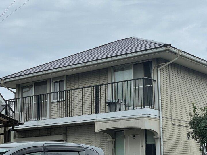 遠賀郡水巻町 Y様邸 屋根塗装工事